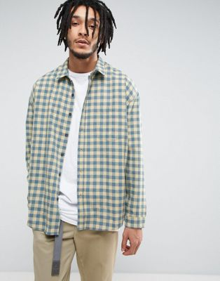 Zeffer Skater Fit Flannel Shirt