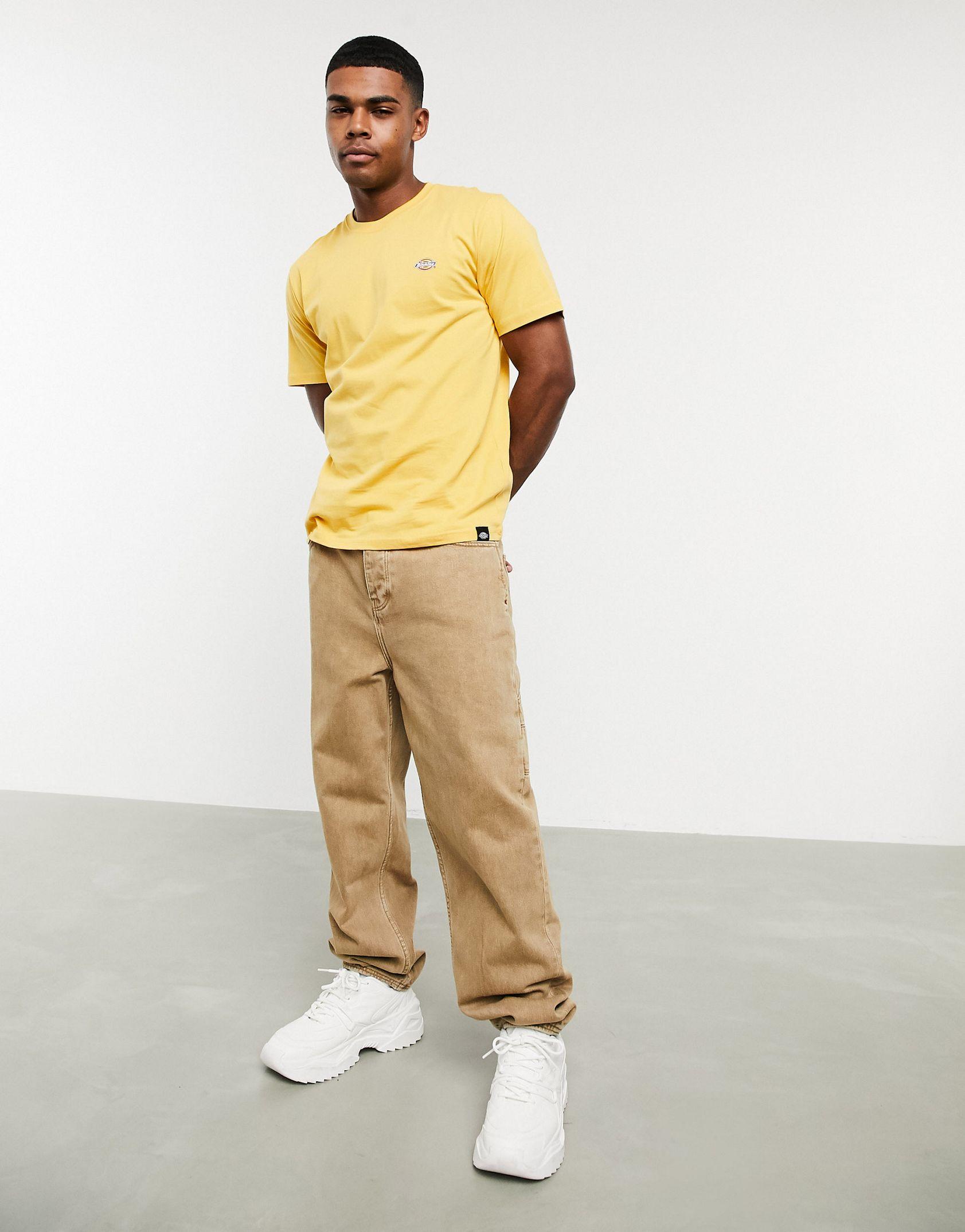 Dickies Stockdale regular t-shirt in yellow - ASOS Price Checker
