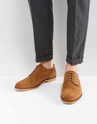 Zign - Suède desert schoenen in bruin