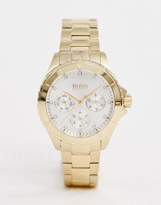 Изображение 1 из Золотистые наручные часы BOSS 1502445 Premiere